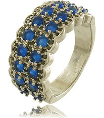 anel viva jolie vintage safira