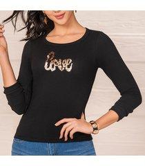 blusa anastacia negro para mujer croydon