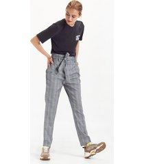 pantalón azul portsaid waist walker