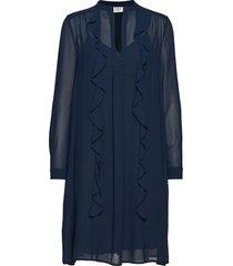 day smart jurk knielengte blauw day birger et mikkelsen