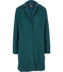 cappotto corto effetto peluche (petrolio) - bpc bonprix collection