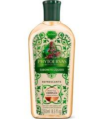 phytoervas sabonete líquido refrescante 250ml - verbena - tricae