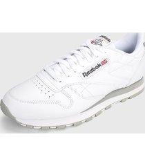 tenis lifestyle blanco reebok classics leather