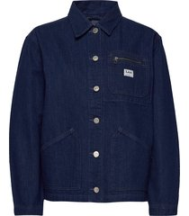 worker chore jacket jeansjack denimjack blauw lee jeans