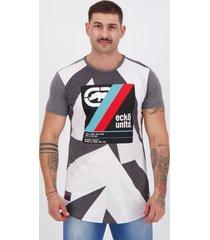 camiseta ecko grafite mescla