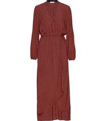 cari maxi dress galajurk rood custommade