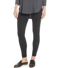 women's nordstrom go-to high waist leggings, size small - black