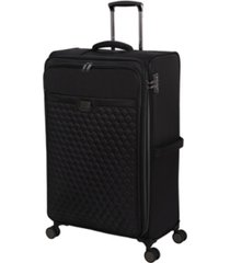 """it girl 32"""" spectacular softside semi-expandable spinner suitcase"""