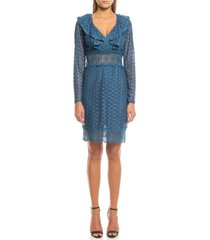 women's short lace dress