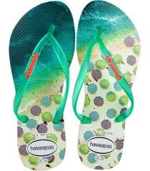 sandalias havaianas slim paisage multicolor 4132614