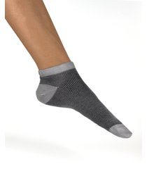 women's italian lounge micro rib ankle socks