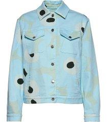 ranta unikko jacket jeansjack denimjack blauw marimekko