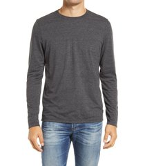men's ag clyde men's long sleeve t-shirt, size x-large - grey