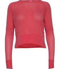 celina ls t-shirts & tops long-sleeved rosa kari traa