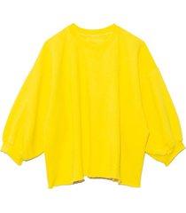 fond sweatshirt in citron