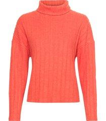 maglia soffice a coste (arancione) - bodyflirt