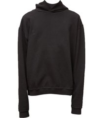 diagonal sweat hole hoodie