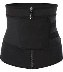 las mujeres body shaper cintura cincher corset deporte adelgazante con la faja chaleco