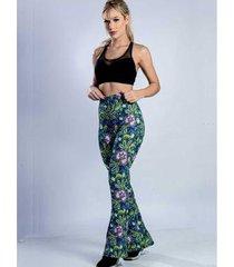 calça legging flare yasmin lingerie feminina - feminino