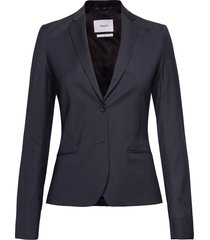 jackie cool wool jacket blazer colbert blauw filippa k