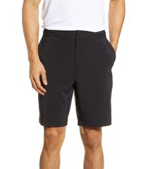 zella hybrid tech shorts, size small in black at nordstrom