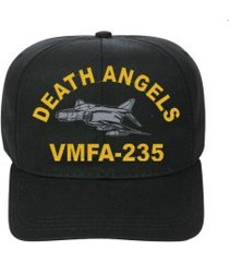 vmfa-235 death angels  f-4 phantom  direct embroidered cap    new