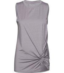 knot singlet t-shirts & tops sleeveless grå röhnisch