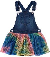 toddler girls tie-dye mesh skirtall