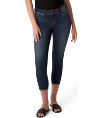 silver jeans co. elyse cropped skinny jeans
