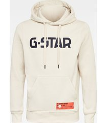 g-star d19186 a971 hooded sweater capuchon 1603 white -