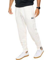 pantalón blanco adidas f sweatp