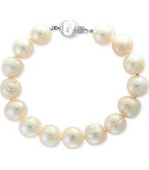 effy cultured freshwater pearl (11mm) bracelet