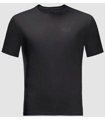 t-shirt korte mouw jack wolfskin t-shirt tech