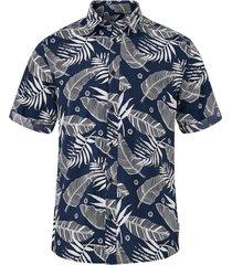 skjorta onsissac ss leaf aop shirt