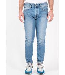 calvin klein skinny pantalone jeans uomo