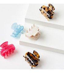 loft mini claw hair clip set