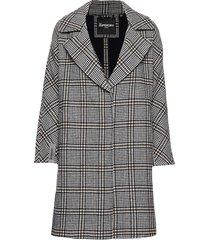 koben wool coat wollen jas lange jas zwart superdry