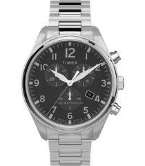 timex waterbury traditional chronograph bracelet watch, 42mm