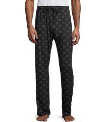 tahari men's 2-pack lounge pants - blue heather - size s