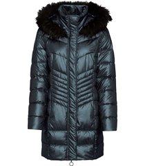 cappotto corto trapuntato con cappuccio (grigio) - bodyflirt