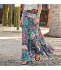 findlay patchwork skirt