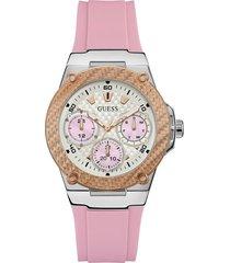 wielofunkcyjny zegarek z silikonowym paskiem