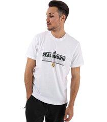 mens real madrid graphic t-shirt