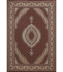 "asbury looms antiquities kburgundyan 1900 01539 58 burgundy 5'3"" x 7'2"" area rug"