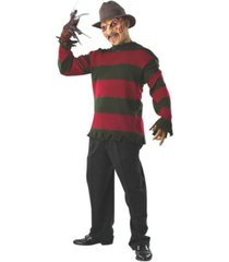 buyseasons men's deluxe freddy sweater with mask adult costume
