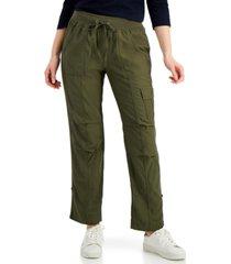 tommy hilfiger alton cuffed straight-leg pants