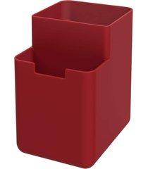 organizador de pia single coza vermelho bold - tricae