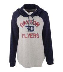 step ahead dayton flyers women's ashton raglan hooded sweatshirt