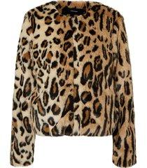 abrigo vero moda crudo - calce regular