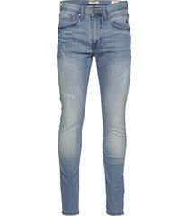 jeans - noos jet fit w. destroy skinny jeans blå blend